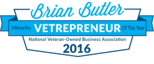 2016 Minority Vetrepreneur of the Year by the National Veteran-Owned Business Association