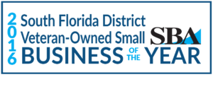 2016 SBA South Florida District Veteran Owned Small Business of the Year