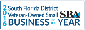 2018 SBA South Florida District and State of Florida Minority Owned Small Business Person of the Year and Small Business Person of the Year